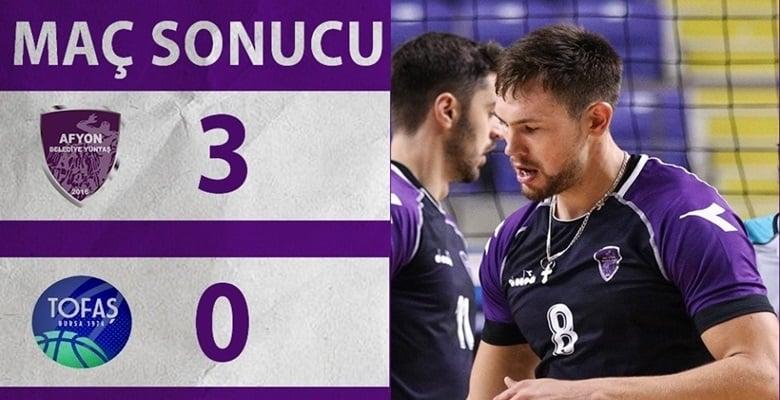 Voleybolda'da Kazandık !! Afyon Belediye Yüntaş 3-0 Tofaş