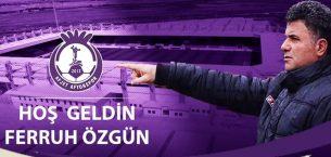 AFJET AFYONSPOR YENİ TEKNİK DİREKTÖRÜ FERRUH ÖZGÜN !!