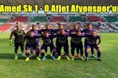 Amed Sk 1 – 0 Afjet Afyonspor