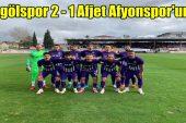 İnegölspor 2 – 1 Afjet Afyonspor'umuz