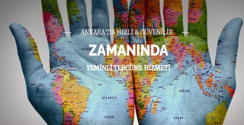Ankara Tercüme Bürosu Hizmetleri