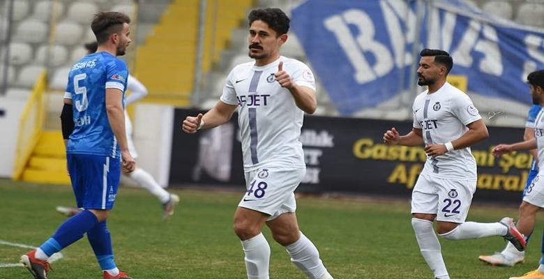 Afjet Afyonspor, Velimeşespor'u eli boş gönderdi!