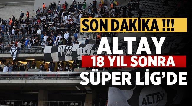 Altay Süper ligde..